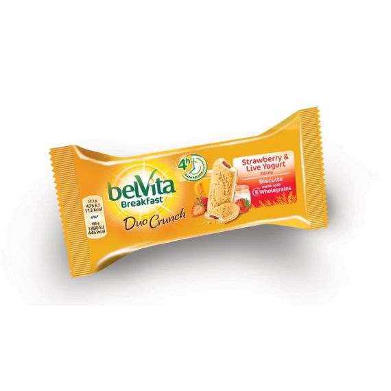 Belvita Duo Crunch Strawberry & Yogurt 50 г
