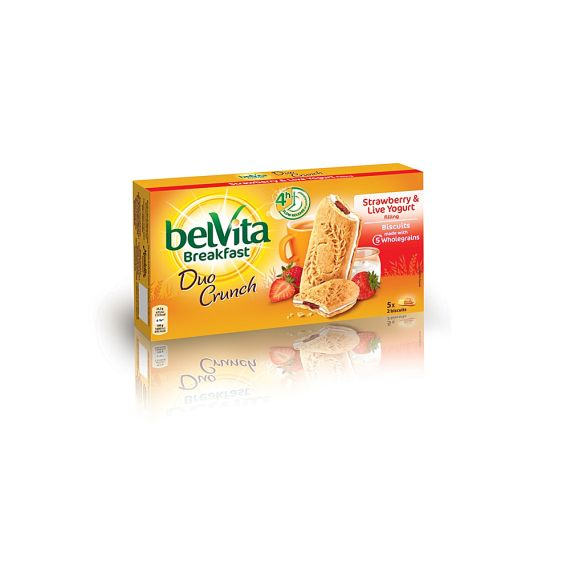 Belvita Duo Crunch Strawberry & Yogurt 253 г