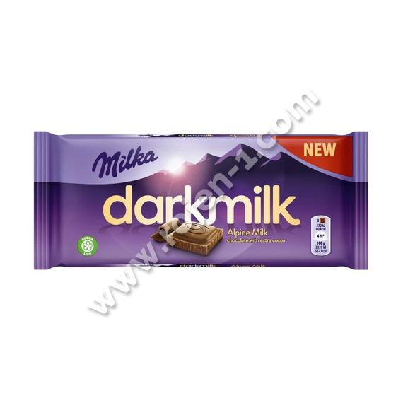 Milka Dark Milk Alpine Milk 85 г