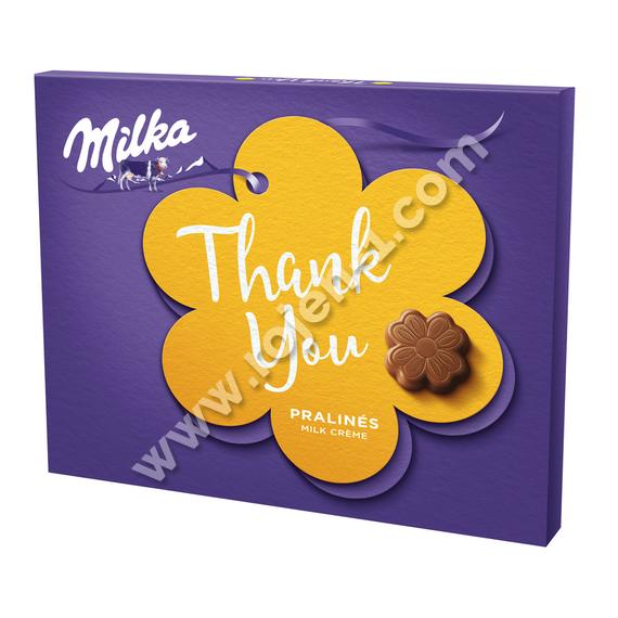 Milka Thank you млечен крем 110г