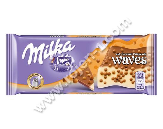 Milka Waves Caramel 81 г