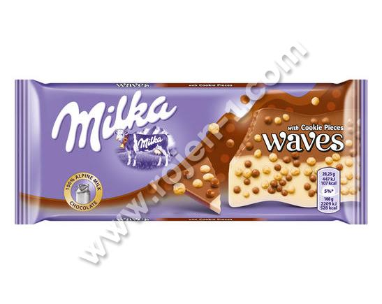 Milka Waves Cookies 81 г