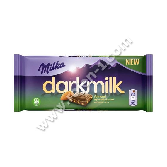 Milka Dark Milk Almond 85 g
